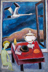 Аист (Птица добрая). 1984. Кондратьев Д.С.1928-2008