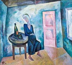 На новую квартиру. 1974. Кондратьев Д.С. (1928-2008)