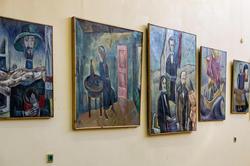 Фрагмент экспозиции выставки Кондратьева Д.С. (1928-2008)
