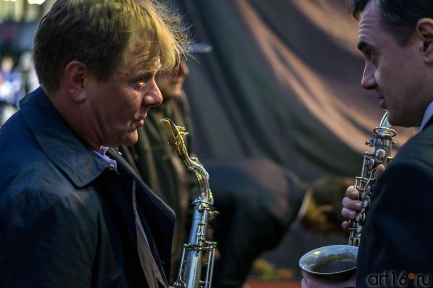 Фото №113253. Игорь Бутман  и Юрий Щербаков