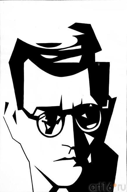 Шостакович. 1961. Константин Васильев (1942-1976)::Выставка Константина Васильева