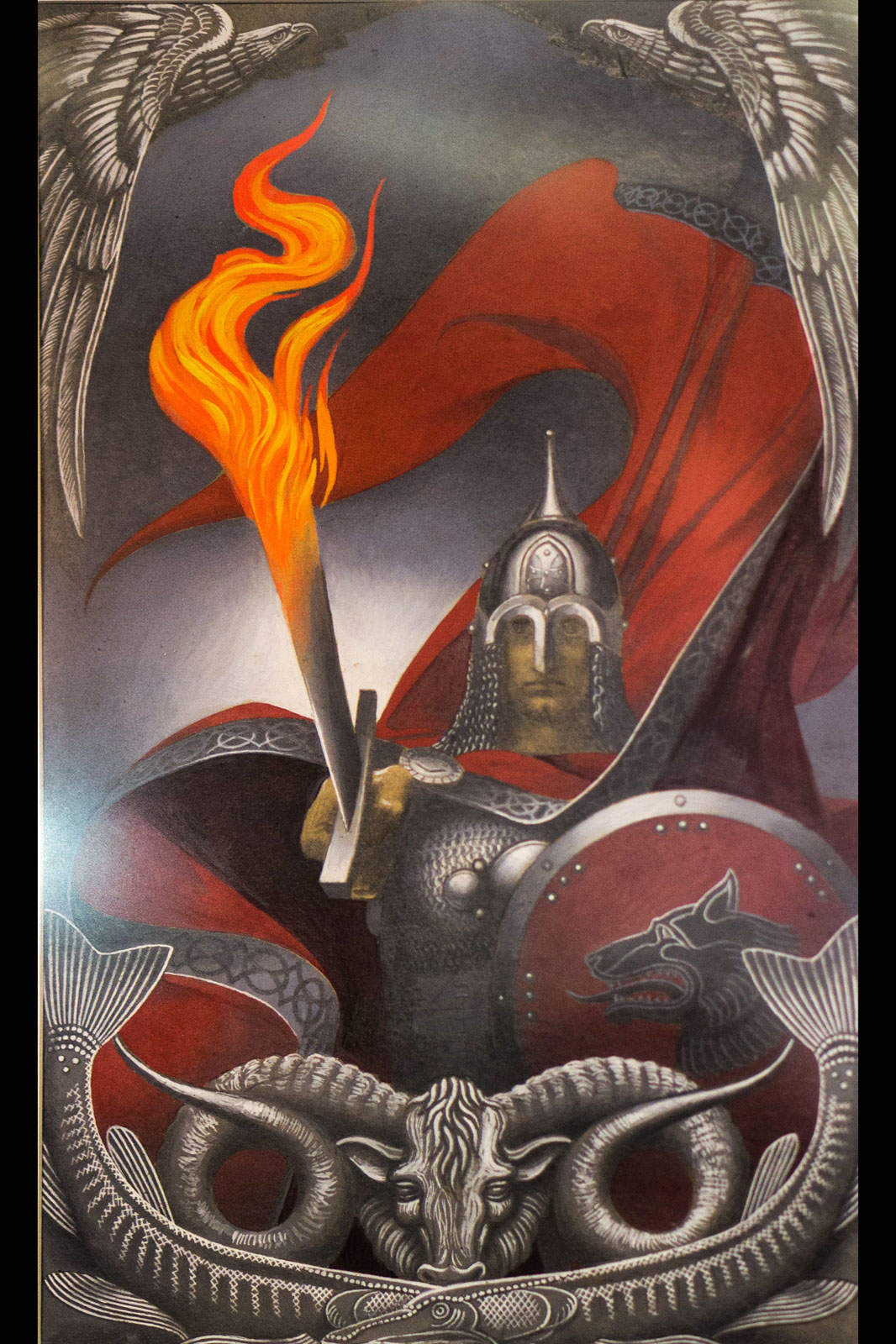 Фото №113664. Огненный меч (Вольга). 1974. Константин Васильев (1942-1976)