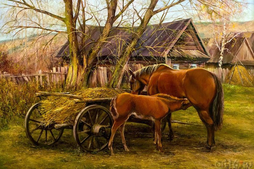В деревне. Тимиршин А.И.::Галерея Мазитова