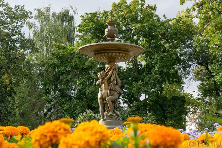 Фонтан в ленинском садике, сентябрь 2012::Галерея Мазитова