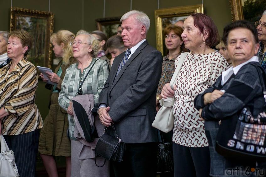 Фото №114692. Ренат Харис (в центре). Открытие выставки  «Иван Иванович Шишкин. Жизнь и творчество»