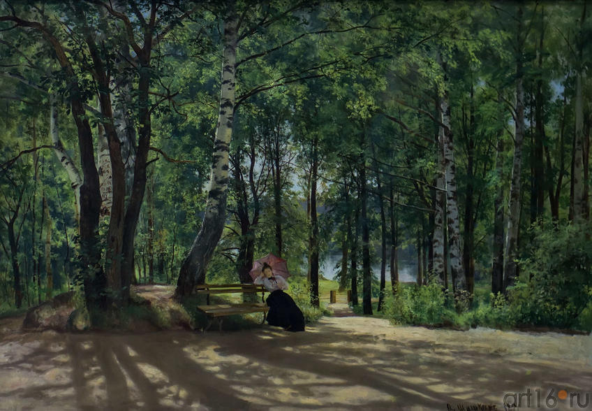 Фото №114758. На даче. 1894. Шишкин И.И. (1832-1898)