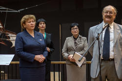 Ратникова Римма Атласовна, Джангвидо Бреддо на открытии выставки