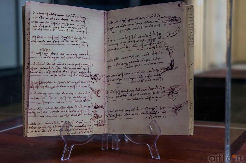 Фото №115144. Факсимиле кодекса Леонардо да Винчи