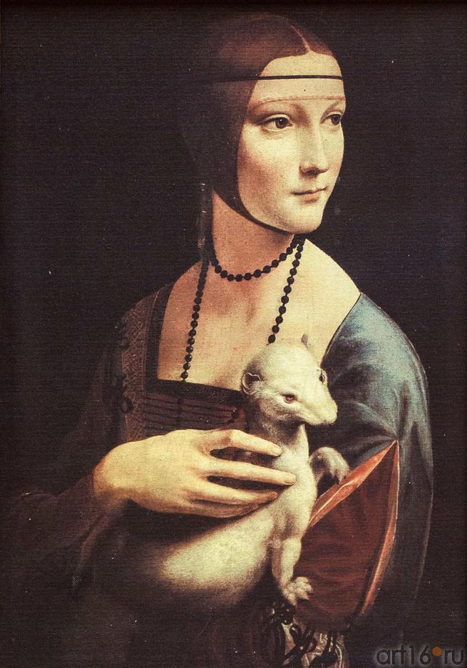 Фото №115210. Дама с горностаем. Леонардо да Винчи