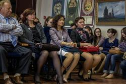 В концертном зале отделения искусств Института филологии и искусств Казанского федерального университета