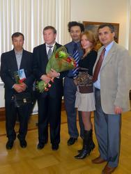 Ф. Халиков в кругу друзей