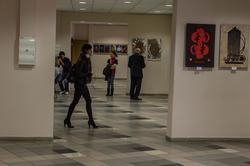 Экспозиция выставки В.А.Попова