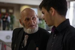 В.А.Попов. Разговор перед открытием выставки