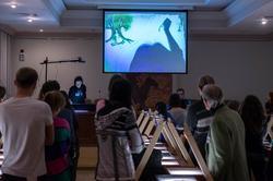 Мастер-класс по песочной анимации Елены Ермолиной