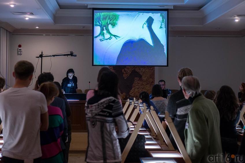 Фото №116752. Мастер-класс по песочной анимации Елены Ермолиной