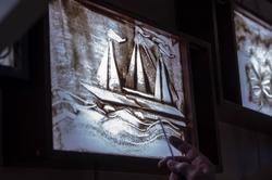 Песочный рисунок Дамира. Мастер-класс по песочной анимации Елены Ермолиной