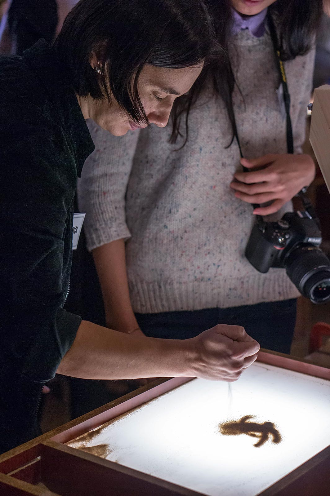 Фото №116813. Елена Ермолина. Мастер-класс по песочной анимации