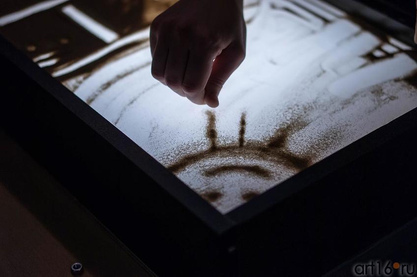 Фото №116831. Мастер-класс по песочной анимации Елены Ермолиной