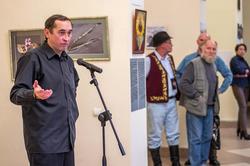 Анвар Сайфутинов. Открытие выставки арт-группы ''Дастан''