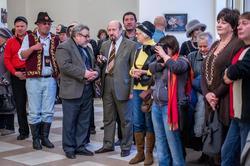 Открытие выставки арт-группы ''Дастан''