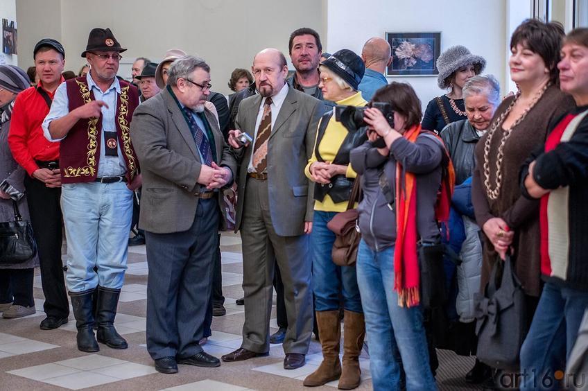 Фото №117295. Открытие выставки арт-группы ''Дастан''