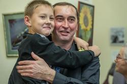 Анвар Сайфутдинов с сыном