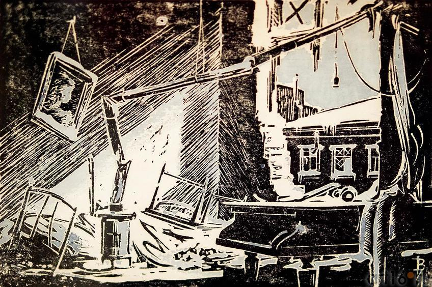 Фото №117684. Иванов В.В. 1906-1969. Из цикла ''Дни и ночи Ленинграда''. 1948