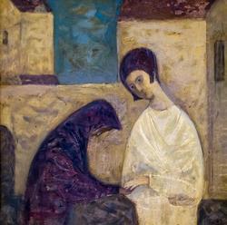Девушка и монашка. Фарит Валиуллин