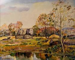 Осенний день. Закир Батраев