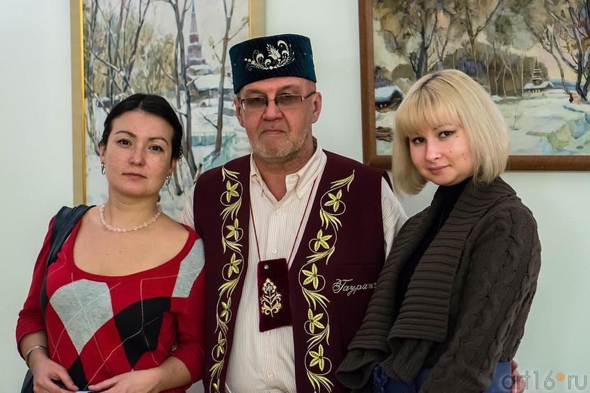 На открытии выставки ʺПод небом Татарстанаʺ, 17.11.2012, НМ РТ::Под небом Татарстана