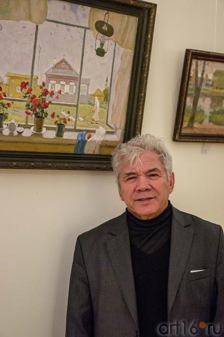 Рифкат Вахитов. Выставка ʺПод небом Татарстанаʺ::Под небом Татарстана