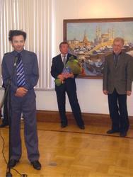 Открытие выставки Ф. Халикова