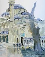 Стамбул. Голубая мечеть. 2006. Газеев Р.Х., Казань