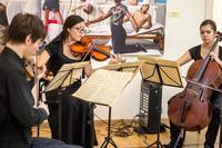Музыкальная составляющая открытия выставки