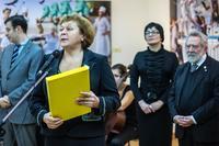 Римма Ратникова. Открытие выставки
