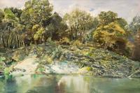 Пейзаж с поваленными деревьями. 2005. Тимофеев П.А., Саратов