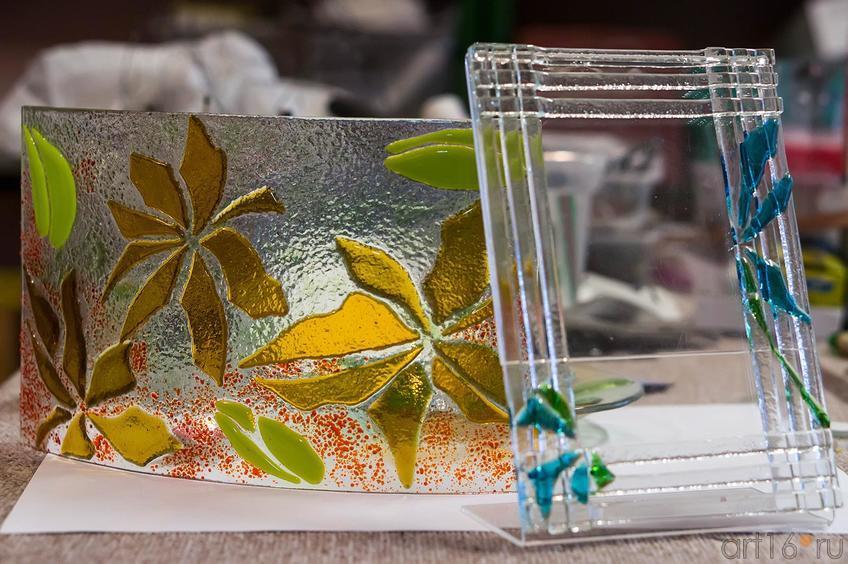 Фото №119291. Фоторамка. Фьюзинг. Дом стеклянного творчества, ноябрь 2012
