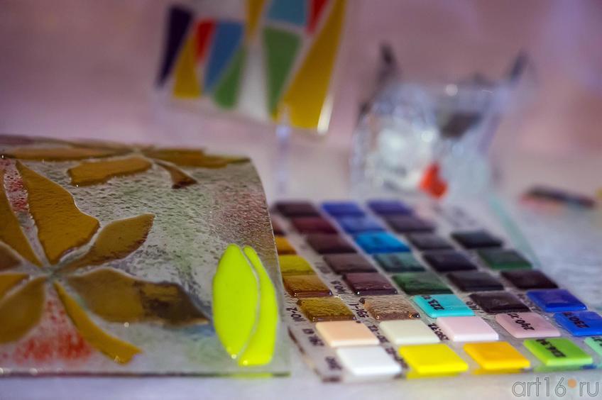 Фото №119321. Цветовая палитра стекол и изделия из стекла. Фьюзинг