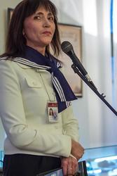 Гульчачак Назипова, директор НМ РТ. Открытие выставки