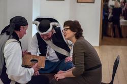 Пираты в музее