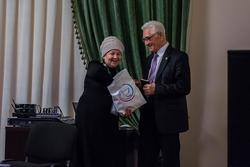 Участница Всемирного конгресса татар в Казани  (из Пермского края) и Масгут Имашев