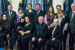 Участники юбилейного вечера, посвященного 100-летию со дня рождения Мустафы Нугмана