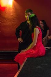 Тимур и Гузель Сибгатуллины.  Милонга в кафе «China Town». 11.12.2012, Казань