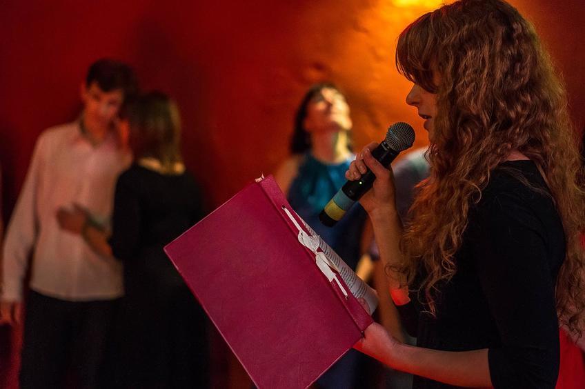 Ксения Семенова. Церемония награждения. 11. 12. 2012::Танго