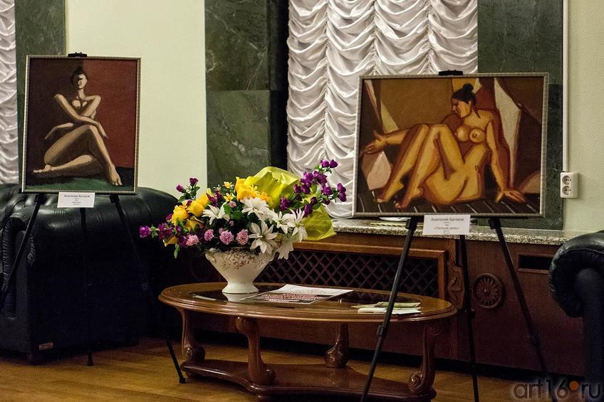 Фото №120612. Фрагмент экспозиции выставки А.Бугакова (Москва)