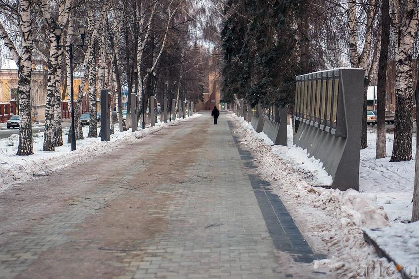 Фото №121782. Чистополь, мемориальная аллея