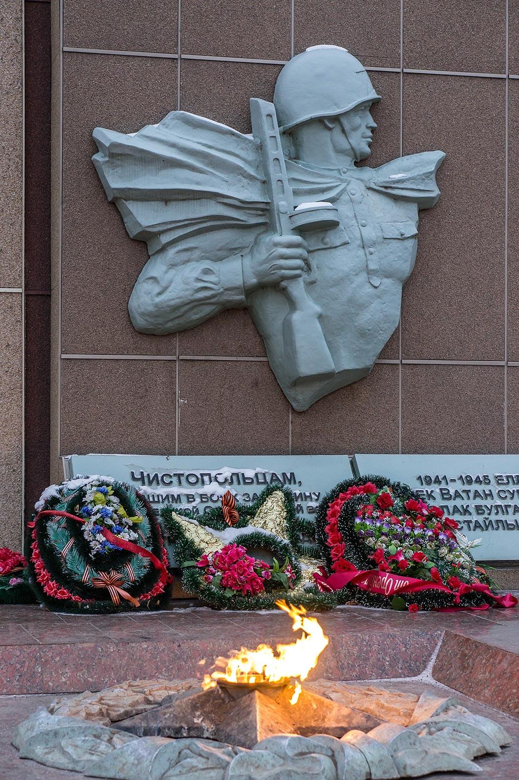 Фото №121794. Чистополь, мемориал павшим в годы ВОв воинам
