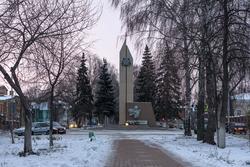 Чистополь, мемориал павшим в годы ВОв воинам