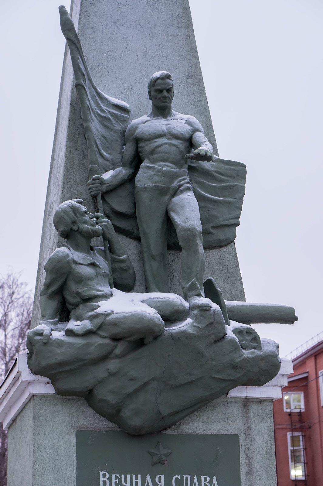 Фото №121818. Чистополь, мемориал воинам ВОв