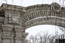 Чистополь, типичное оформление створа ворот
